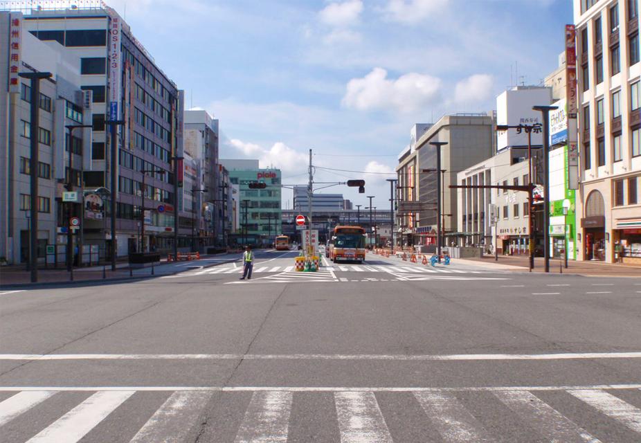 姫路駅前整備事業(土木事業)